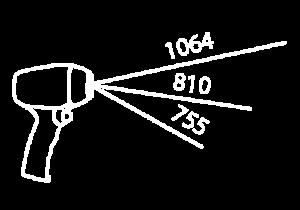3 longitudes de onda conbinadas